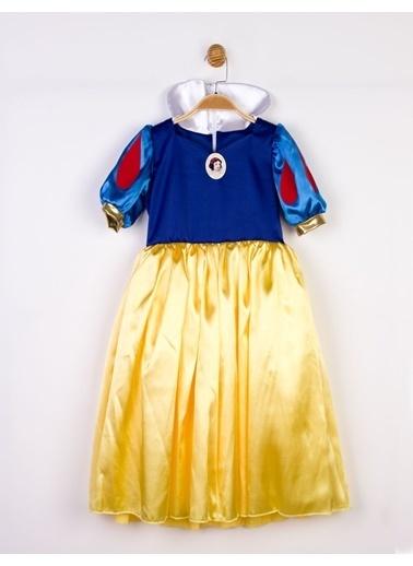 Disney Pamuk Prenses Lisanslı Kostüm Elbise Saks